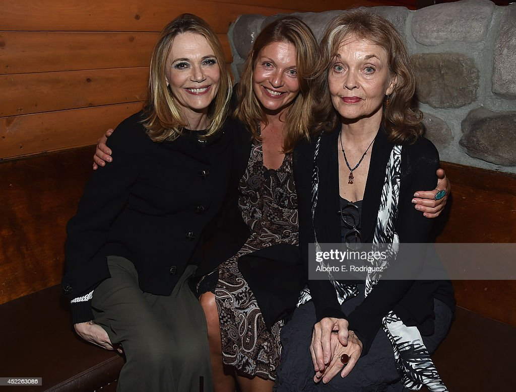 Actors Peggy Lipton, Sheryl Lee and Grace Zabriskie attend the after party for The American Film Institute Presents 'Twin Peaks-The Entire Mystery' Blu-Ray/DVD release at Bigfoot Lodge on July 16, 2014 in Los Angeles, California.