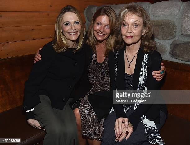 Actors Peggy Lipton Sheryl Lee and Grace Zabriskie attend the after party for The American Film Institute Presents 'Twin PeaksThe Entire Mystery'...