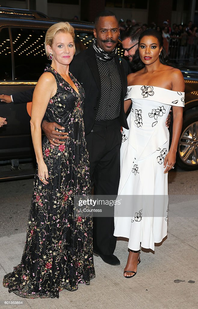 Actors Penelope Ann Miller, Coleman Domingo and Gabrielle Union attend the 2016 Toronto International Film Festival premiere of 'The Birth Of A Nation' Premiere at Winter Garden Theatre on September 9, 2016 in Toronto, Canada.