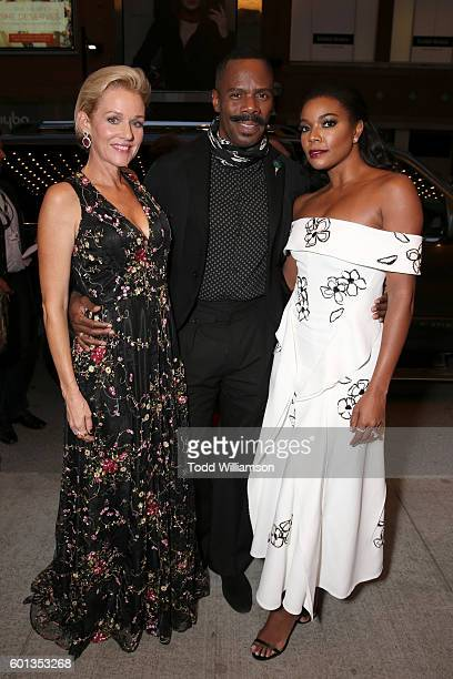 Actors Penelope Ann Miller Gabrielle Union and Colman Domingo attend Fox Searchlight's 'The Birth of a Nation' special presentation during the 2016...