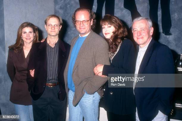 Actors Peri Gilpin David Hyde Pierce Kelsey Grammer Jane Leeves and John Mahoney attend the 32nd Annual National Association of Television Program...