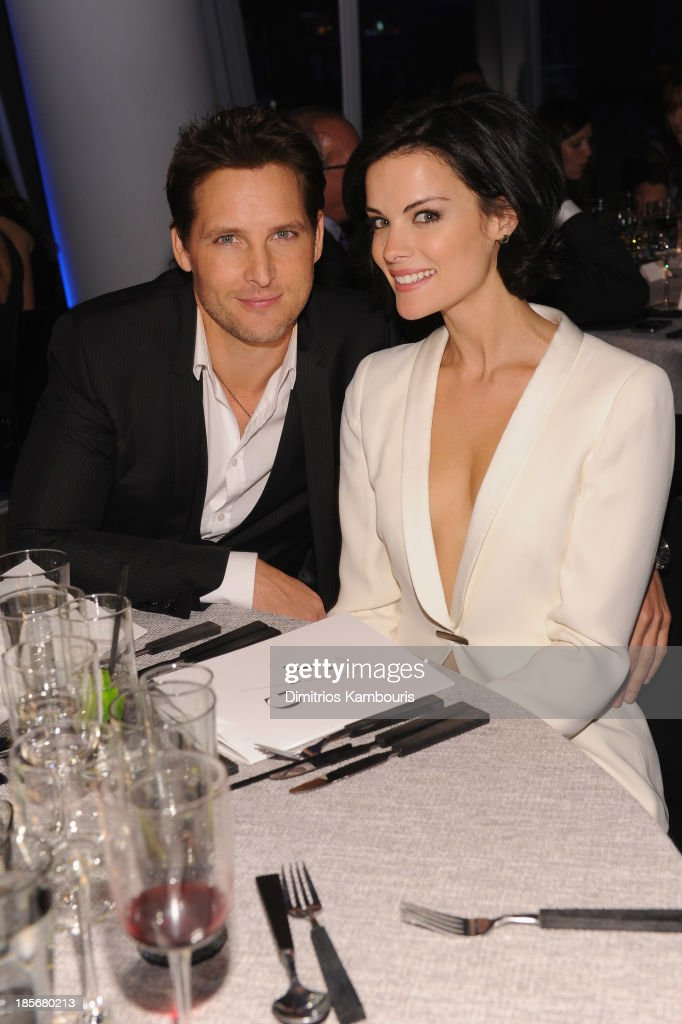 Actors Peter Facinelli and Jaime Alexander attend the 2013 GQ Gentlemen's Ball presented by BMW i, Movado, and Nautica at IAC Building on October 23, 2013 in New York City.