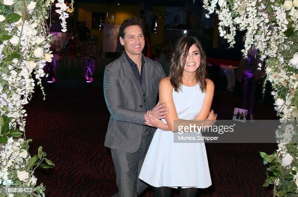 Actors Peter Facinelli and Nikki Reed attend the Twilight Forever Fan Experience Exhibit launch at Planet Hollywood Times Square on November 4 2013...