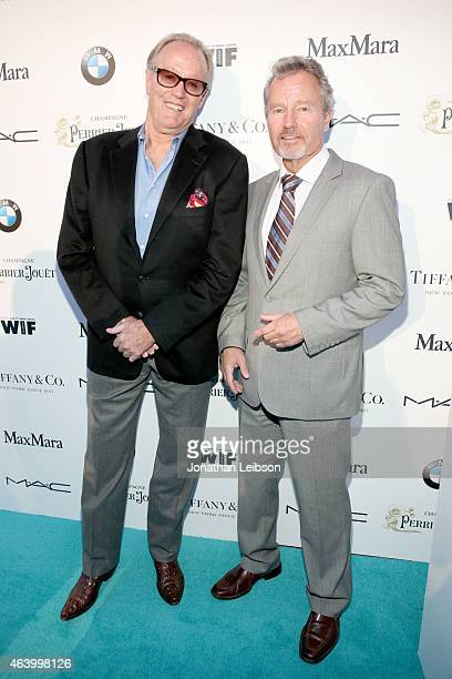 Actors Peter Fonda and John Savage attend Women In Film PreOscar Cocktail Party presented by MaxMara BMW Tiffany Co MAC Cosmetics and PerrierJouet at...