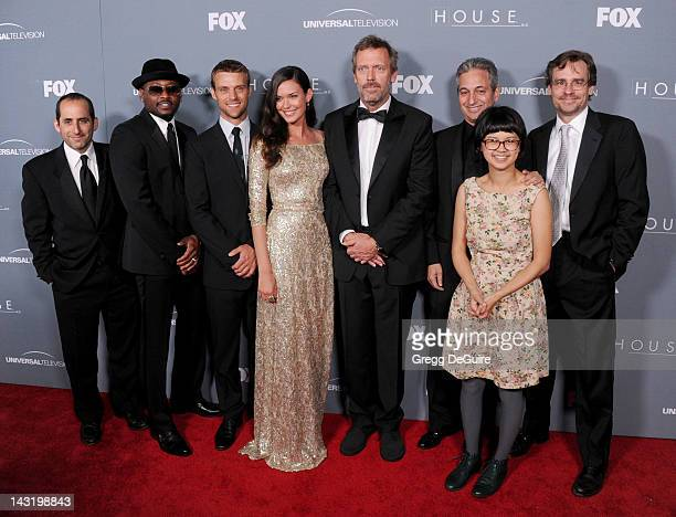 Actors Peter Jacobson Omar Epps Jesse Spencer Odette Annable Hugh Laurie creator of House David Shore actors Charlyne Yi and Robert Sean Leonard...