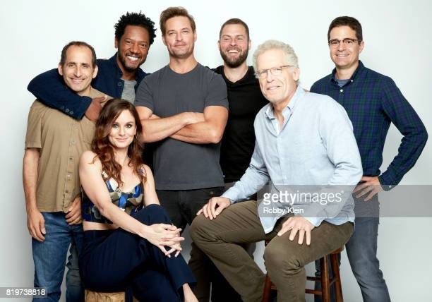 Actors Peter Jacobson Sarah Wayne Callies Tory Kittles Josh Holloway writer/producers Ryan Condal Carlton Cuse and producer Wes Tooke from USA...