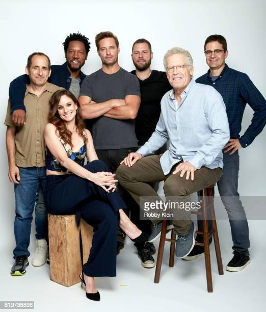 Actors Peter Jacobson Sarah Wayne Callies Tory Kittles Josh Holloway writer/producers Ryan Condal Carlton Cuse and producer Wes Tooke from USA...