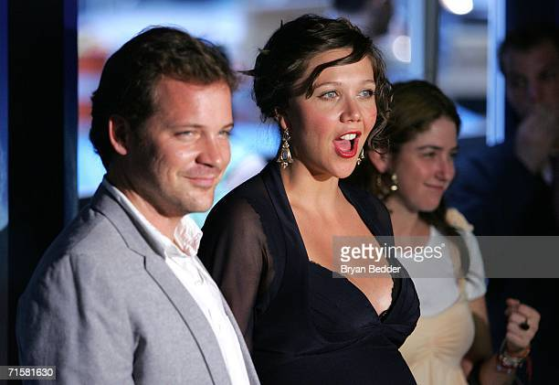 Actors Peter Sarsgaard and Maggie Gyllenhaal attend the world premiere of Paramount Pictures' 'World Trade Center' at the Ziegfeld Theatre August 3...