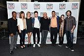 Actors Phil LaMarr Rosemarie DeWitt Olivia Crocicchia Travis Trope Dean Norris Adam Sandler and Kaitlyn Dever and director Jason Reitman attend the...