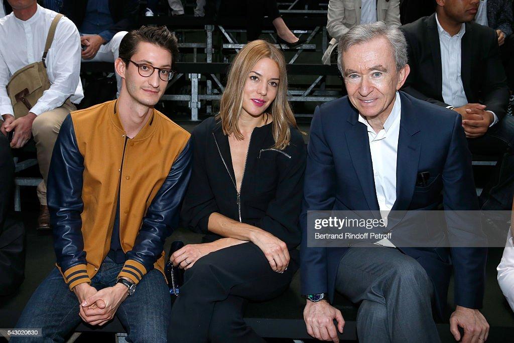 Dior Homme : Front Row  - Paris Fashion Week - Menswear Spring/Summer 2017