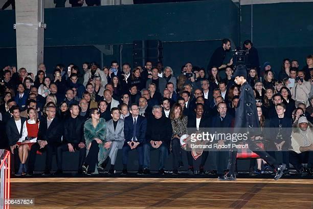 Actors Pierre Niney Natasha Andrews Lambert Wilson Glen Powell Noomi Rapace Rami Malek Christian Slater CEO Dior Sidney Toledano Caroline de Maigret...