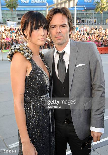 Actors Pollyanna Rose and Billy Burke arrive at the premiere of Summit Entertainment's 'The Twilight Saga Eclipse' during the 2010 Los Angeles Film...