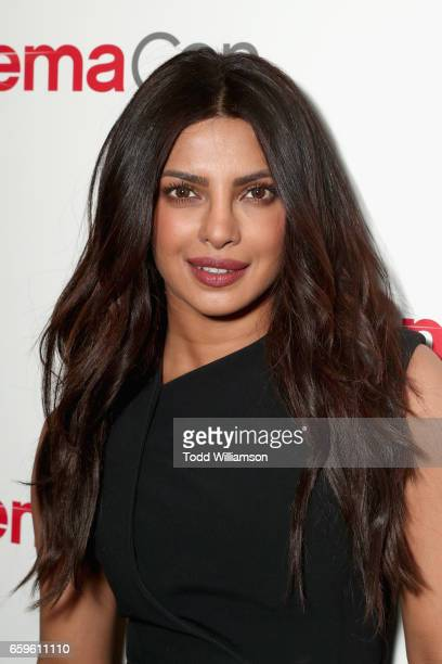 Actors Priyanka Chopra at CinemaCon 2017 Paramount Pictures Presentation Highlighting Its Summer of 2017 and Beyond at The Colosseum at Caesars...