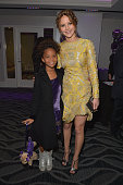 Actors Quvenzhane Wallis and Jennifer Lawrence attend the 38th Annual Los Angeles Film Critics Association Awards at InterContinental Hotel on...