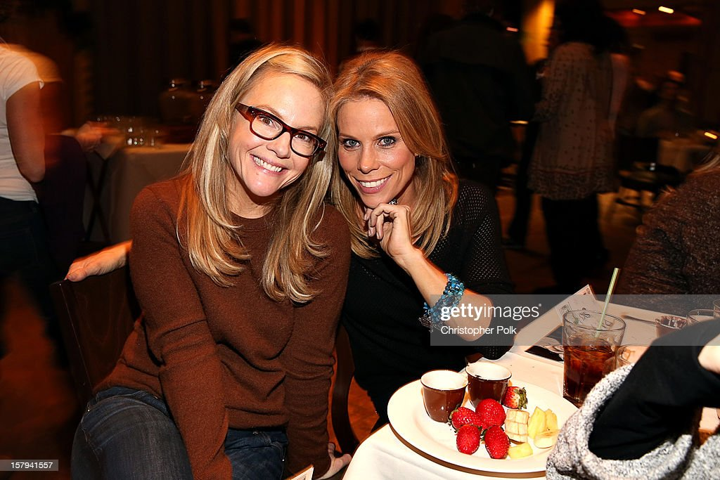 Actors Rachael Harris and Cheryl Hines attend the Deer Valley Celebrity Skifest at Deer Valley on December 7, 2012 in Park City, Utah.
