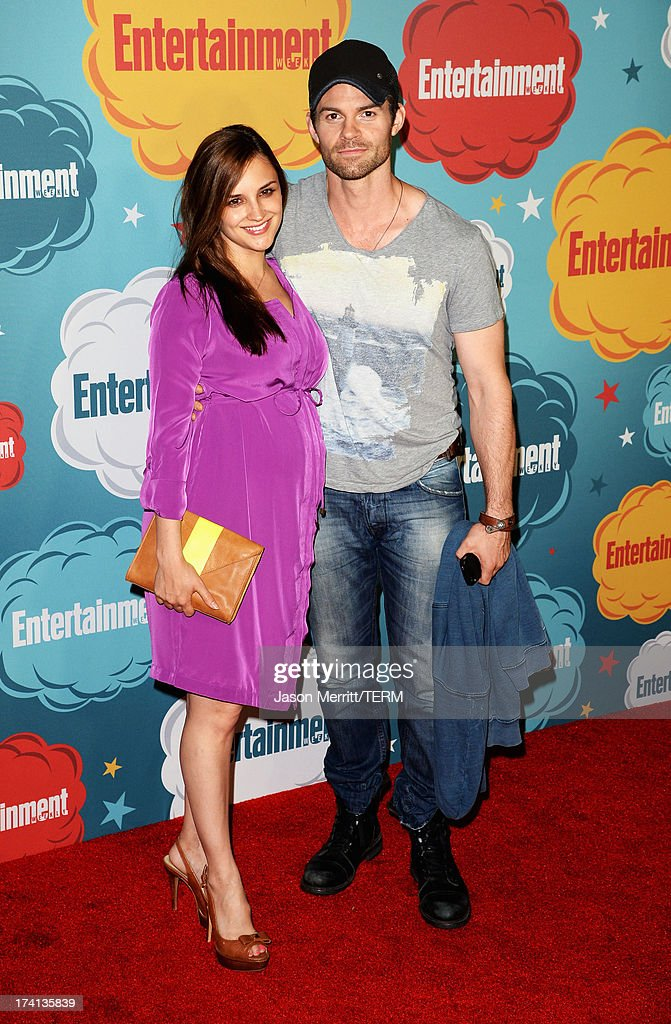 Actors Rachael Leigh Cook and Daniel Gillies attend Entertainment Weekly's Annual Comic-Con Celebration at Float at Hard Rock Hotel San Diego on July 20, 2013 in San Diego, California.