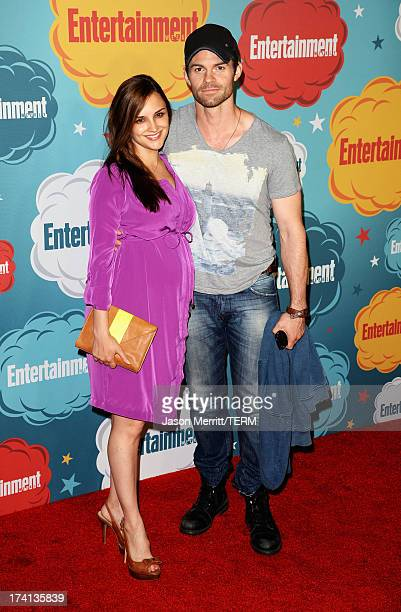 Actors Rachael Leigh Cook and Daniel Gillies attend Entertainment Weekly's Annual ComicCon Celebration at Float at Hard Rock Hotel San Diego on July...