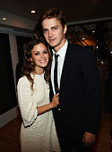 Actors Rachel Bilson and Hayden Christensen attend the Glacier Films launch party hosted by Hayden C and Michael Saylor aboard the Yacht Harle on May...