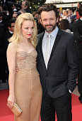 Actors Rachel McAdams and Michael Sheen attend the 'Sleeping Beauty' Premiere during the 64th Annual Cannes Film Festival at the Palais des Festivals...