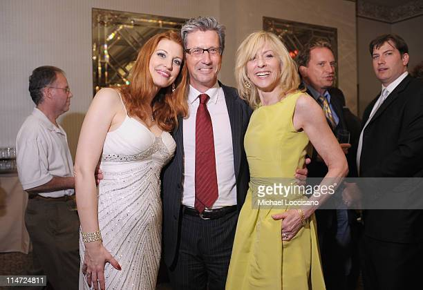 Actors Rachel York Charles Shaughnessy and Judith Light attend the after party for the premiere of 'The Best Is Yet to Come The Music of Cy Coleman'...