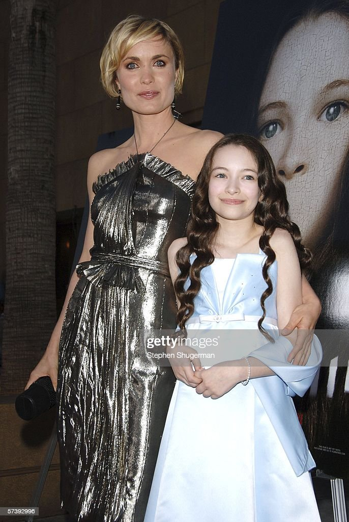 Actors Radha Mitchell and Jodelle Ferland attend the premiere of TriStar Pictures' 'Silent Hill' at the Egyptian Theatre on April 20, 2006 in Hollywood, California.