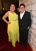 Actors Raini Rodriguez and Rico Rodriguez arrive to the 28th Annual Imagen Awards at The Beverly Hilton Hotel on August 16 2013 in Beverly Hills...
