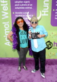 Actors Raini Rodriguez and Rico Rodriguez at the Hub booth during Variety's 5th annual Power Of Youth event presented by The Hub at Paramount Studios...
