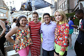 Actors Raini Rodriguez Bailee Madison Rico Rodriguez and Taylor Spreitler attend Variety's Power of Youth presented by Hasbro Inc and generationOn at...