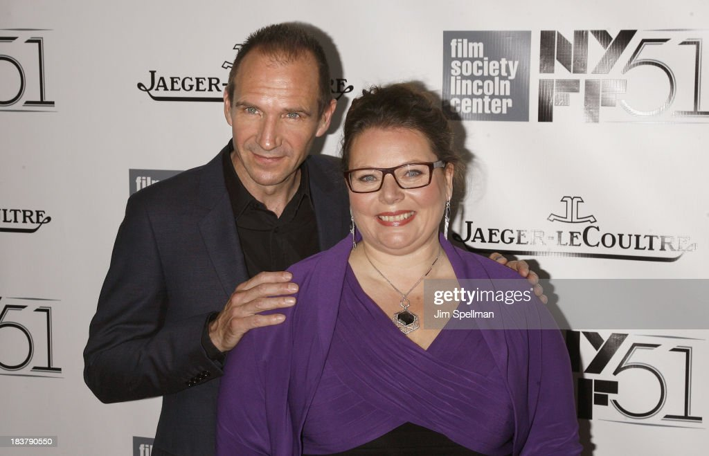 Actors <a gi-track='captionPersonalityLinkClicked' href=/galleries/search?phrase=Ralph+Fiennes&family=editorial&specificpeople=206461 ng-click='$event.stopPropagation()'>Ralph Fiennes</a> and Joanna Scanlan attend the Gala Tribute To <a gi-track='captionPersonalityLinkClicked' href=/galleries/search?phrase=Ralph+Fiennes&family=editorial&specificpeople=206461 ng-click='$event.stopPropagation()'>Ralph Fiennes</a> during the 51st New York Film Festival at Alice Tully Hall at Lincoln Center on October 9, 2013 in New York City.