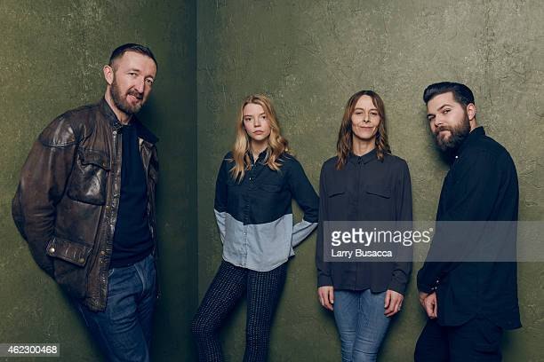 Actors Ralph Ineson Anya TaylorJoy Kate Dickie and director/writer Robert Eggers of 'The Witch' pose for a portrait at the Village at the Lift...