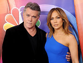 Actors Ray Liotta and Jennifer Lopez arrive at the 2016 NBCUniversal Winter TCA Press Tour at Langham Hotel on January 13 2016 in Pasadena California