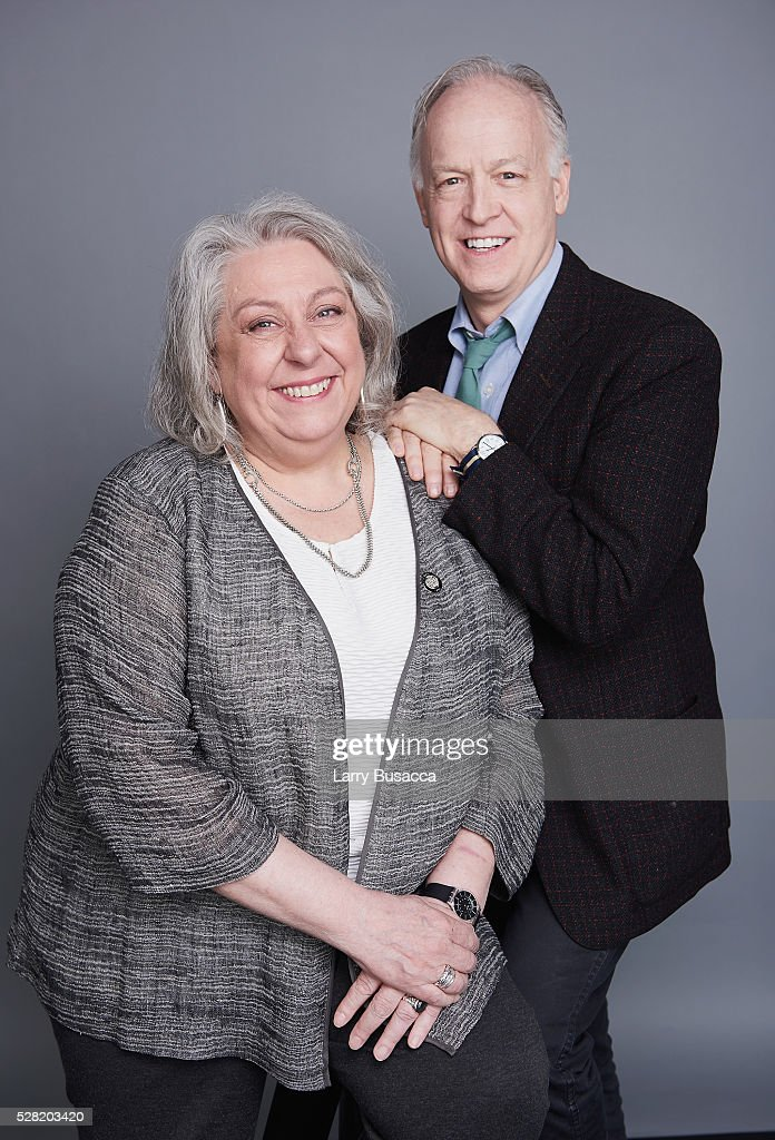 Actors <a gi-track='captionPersonalityLinkClicked' href=/galleries/search?phrase=Reed+Birney&family=editorial&specificpeople=5840821 ng-click='$event.stopPropagation()'>Reed Birney</a> (L) and Jayne Houdyshell pose for a portrait at the 2016 Tony Awards Meet The Nominees Press Reception on May 4, 2016 in New York City.