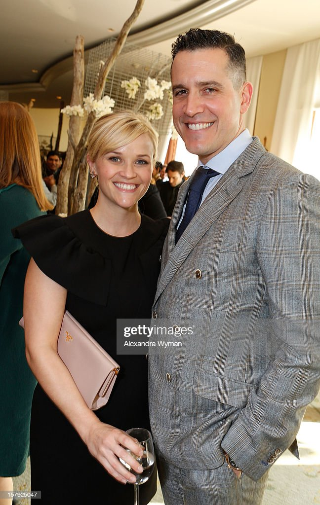 Actors <a gi-track='captionPersonalityLinkClicked' href=/galleries/search?phrase=Reese+Witherspoon&family=editorial&specificpeople=201577 ng-click='$event.stopPropagation()'>Reese Witherspoon</a> and <a gi-track='captionPersonalityLinkClicked' href=/galleries/search?phrase=Jim+Toth&family=editorial&specificpeople=4543295 ng-click='$event.stopPropagation()'>Jim Toth</a> attend the 7th Annual March of Dimes Celebration of Babies, a Hollywood Luncheon, at the Beverly Hills Hotel on December 7, 2012 in Beverly Hills, California.