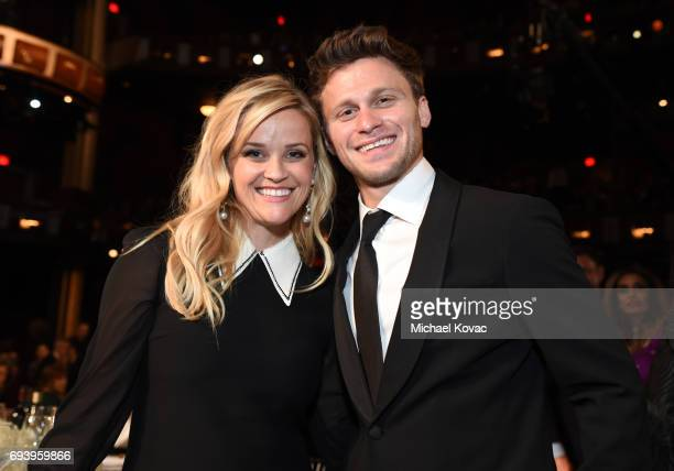 Actors Reese Witherspoon and Jon Rudnitsky attend American Film Institute's 45th Life Achievement Award Gala Tribute to Diane Keaton at Dolby Theatre...