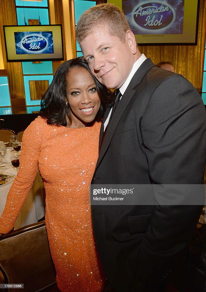 Actors Regina King and Michael Cudlitz attend Broadcast Television Journalists Association's third annual Critics' Choice Television Awards at The Beverly Hilton Hotel on June 10, 2013 in Los Angeles, California.