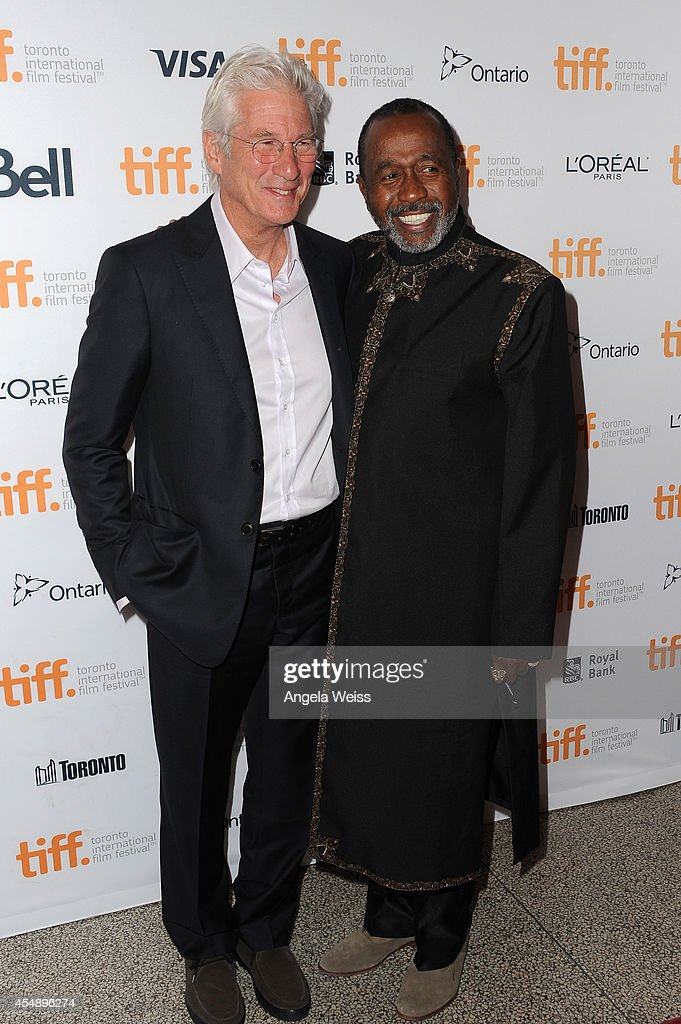 Actors Richard Gere and Ben Vereen attend the 'Time Out Of Mind' premiere during the 2014 Toronto International Film Festival at Winter Garden...