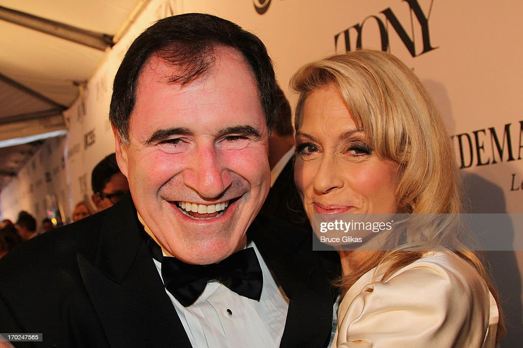 Actors Richard Kind and Judith Light attend the 67th Annual Tony Awards at Radio City Music Hall on June 9, 2013 in New York City.