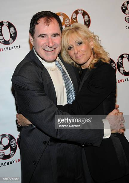 Actors Richard Kind and Judith Light attend the 90th Anniversary Gala Celebration at Cherry Lane Theatre on October 6 2014 in New York City