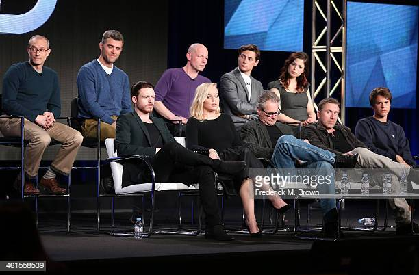 Actors Richard Madden Abbie Cornish Sam Shepard Tim Roth Johnny Simmons David Zucker Executive Producer Paul Scheuring Writer and Executive Producer...