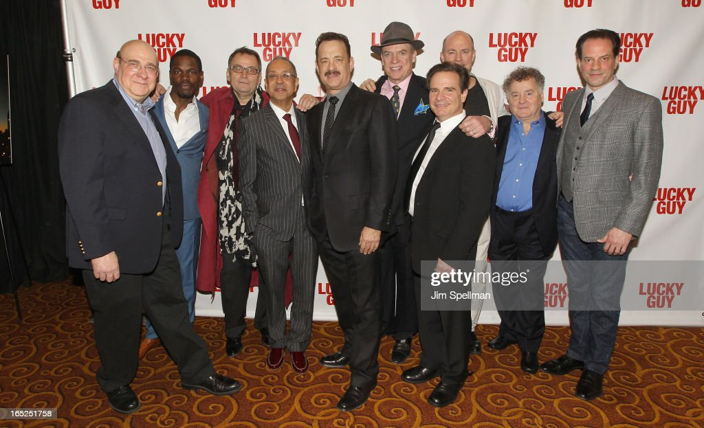 Actors Richard Masur Stephen Tyrone Williams Brian Dysktra director George C Wolfe actors Tom Hanks Christopher McDonald Peter Scoari Michael Gaston...