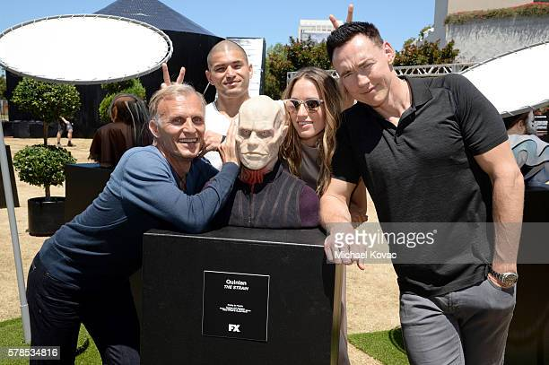 Actors Richard Sammel Miguel Gomez Ruta Gedmintas and Kevin Durand attend FXhibition during ComicCon International 2016 at Hilton Bayfront on July 21...