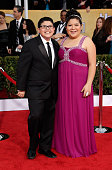 Actors Rico Rodriguez and Rico Rodriguez arrive at the19th Annual Screen Actors Guild Awards held at The Shrine Auditorium on January 27 2013 in Los...