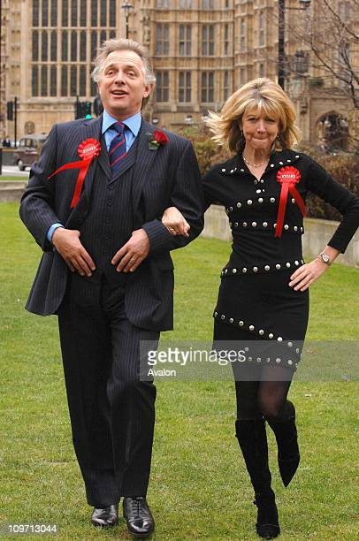 Actors RIK MAYALL and MARSHA FITZALAN are to return as Alan B'Stard and his wife Sarah on the British Stage in a production of The New Statesman...