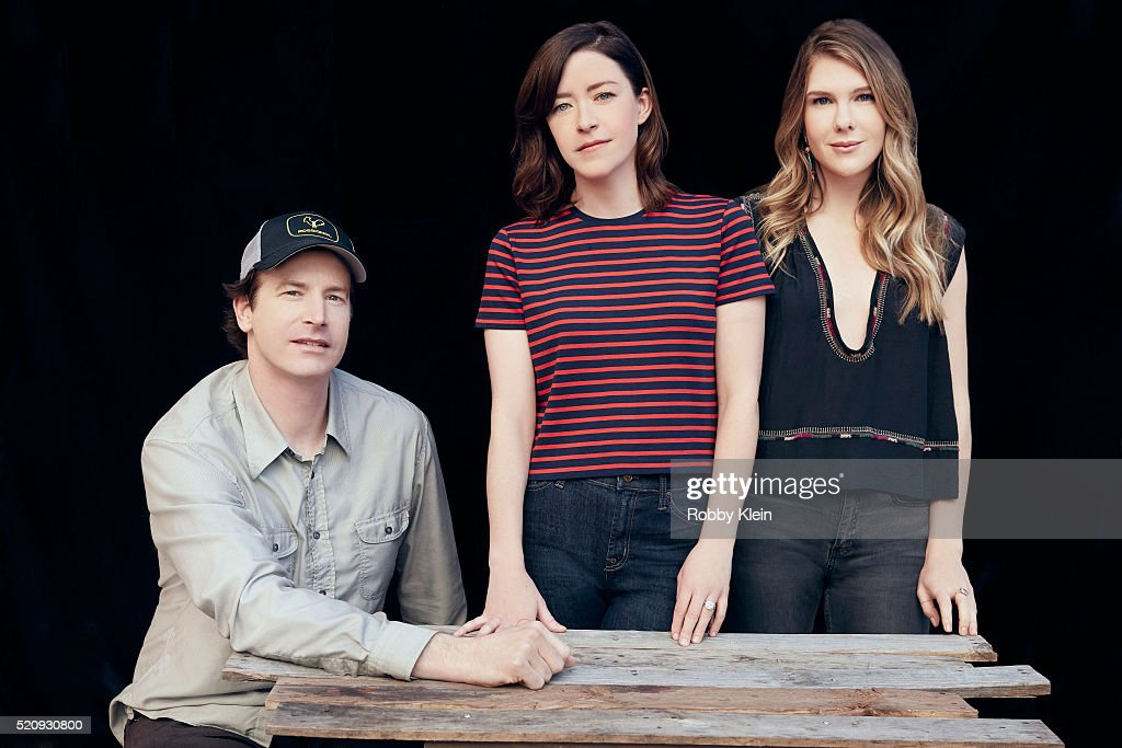 Actors Rob Huebel, and Lily Rabe with Writer/Director Julia Hart, 'Miss Stevens' are photographed for The Wrap on March 13, 2016 in Austin, Texas.
