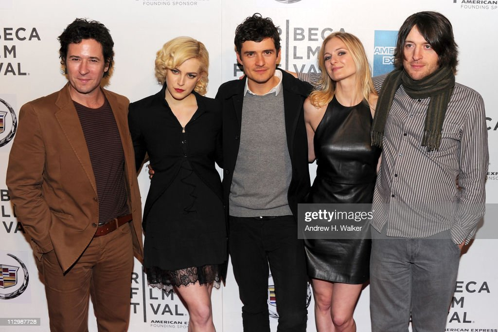 Actors Rob Morrow Riley Keough Orlando Bloom Sorel Carradine and director Lance Daly attend the premiere of 'The Good Doctor' during the 2011 Tribeca...