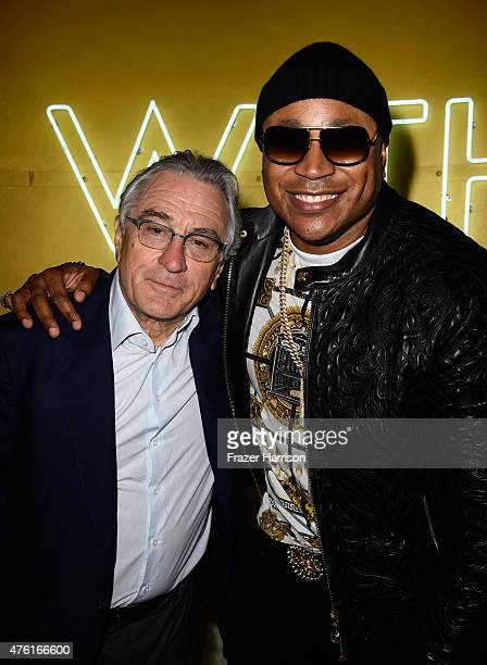 Actors Robert De Niro and LL Cool J attend Spike TV's Guys Choice 2015 at Sony Pictures Studios on June 6 2015 in Culver City California