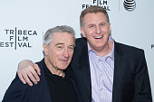Actors Robert De Niro and Michael Rapaport attend the 2015 Tribeca Film Festival Awards Night at the Spring Studios on April 23 2015 in New York City