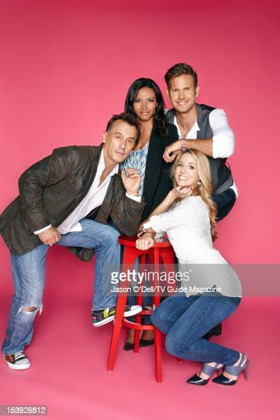 Actors Robert Knepper Jessica Lucas Matthew Davis and Alona Tal are photographed for TV Guide Magazine on July 25 2012 on the TV Guide Magazine Yacht...