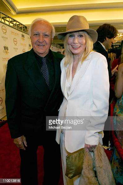 Actors Robert Loggia and Sally Kellerman pose at the 18th Annual Night of 100 Stars on February 24 2008 in Beverly Hills CA