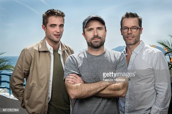 Actors Robert Pattinson and Guy Pearce with film diector David Michod are photographed for the Hollywood Reporter in Cannes France